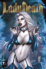 Lady Death Damnation Game #1 Premium Foil Silvestri Cover