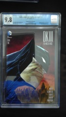 Dark Knight III: The Master Race #1 Dynamic Forces Timm Variant CGC 9.8