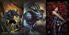 GFT Grimm Fairy Tales #109 Lot Cover A B C Set