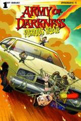 Army Of Darkness Furious Road #1 (Of 5) Cover D Fleecs