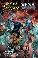 Aod Xena Forever And A Day #3 (Of 6) Cover A Bradshaw
