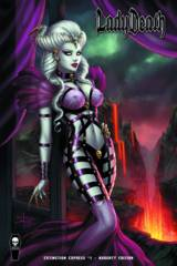 Lady Death Extinction Express #1 Naughty Cover Edition