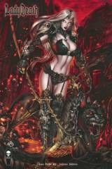 Lady Death Chaos Rules #1 Inferno Cover