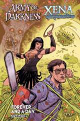 Aod Xena Forever And A Day #5 (Of 6) Cover A Strahm