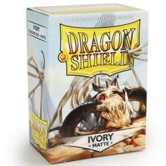 Dragon Shield Matte Sleeves: Ivory (100)