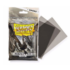 Dragon Shield Perfect Fit Sleeves: Smoke (100)