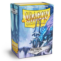 Dragon Shield Matte Sleeves: Petrol (100)