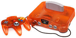 Nintendo 64 - Atomic Orange