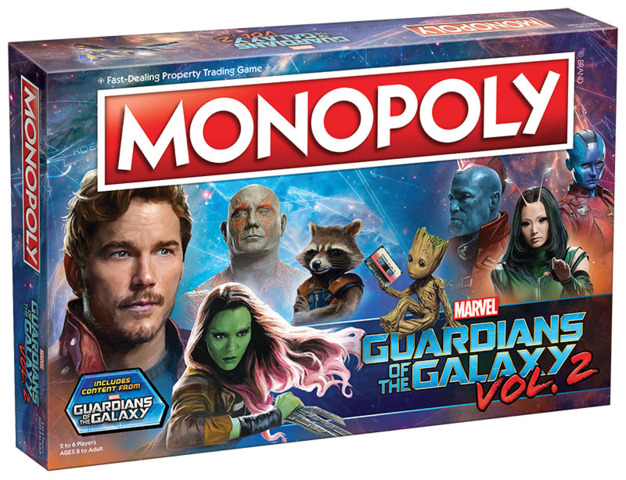 Monopoly - Guardians Of The Galaxy Vol. 2