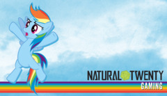 Rainbow Dash - Blue