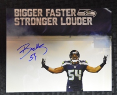 Bobby Wagner Seahawks Autographed 8x10 Photo D