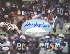Steve Largent Seahawks Autographed 8x10 Photo JSA B