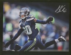 Jeremy Lane Seahawks Autographed  8x10 Photo B
