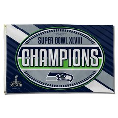 NFL 2014 Super Bowl XLVIII Champion 3x5 Banner Flag