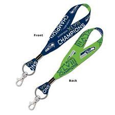 Seattle Seahawks Super Bowl Champions 6' Lanyard Key Strap