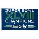 Super Bowl Champions Seattle Seahawks Flag 3x5