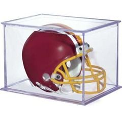 Mini Helmet and Figurines Display Case