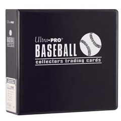 3in. Black Baseball Album