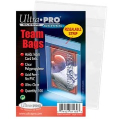 Team Bags Resealable Sleeves