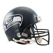 Seattle Seahawks Full Size Authentic Helmet VSR4 2012 > Unsigned