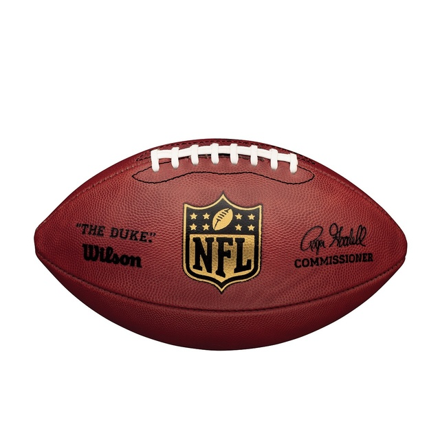 Official NFL Authentic Wilson Duke Unsigned Football
