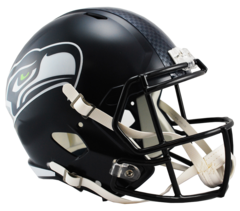 Seattle Seahawks Full Size Replica Speed Style Helmet Unsigned