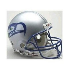 Seattle Seahawks Full Size Replica Helmet 1976 - 2001 Unsigned