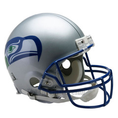 Seattle Seahawks Full Size Authentic Helmet > 2001 Unsigned