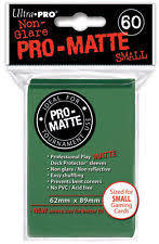 Ultra Pro Pro-Matte Small Sleeves - Green (60ct)