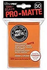 Ultra Pro PRO-Matte Standard Sleeves - Orange (50ct)