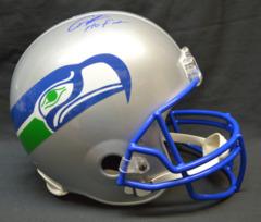 Cortez Kennedy Seahawks Signed Full Size Helmet w/ HOF Inscription