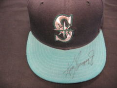 Ken Griffey Jr. Signed Mariners Hat w/COA