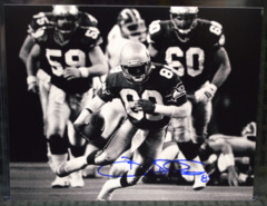 Brian Blades Seattle Seahawks Signed B&W 8x10 Photo #1
