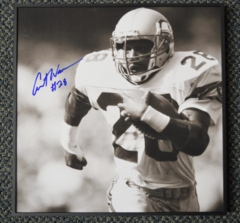 Curt Warner Seahawks Autographed Vuezz Frame