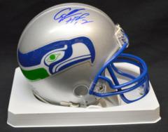Cortez Kennedy Seahawks Signed Mini Helmet w/ HOF Inscription