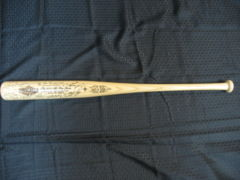 2001 Seattle All Star Game Bat 925/2001 w/ Facsimile Autographs