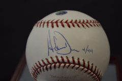 Adam Dunn Signed Autographed Baseball 4/44 w/ Steiner and MLB COA's BB 256