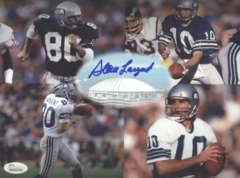 Steve Largent Seahawks Autographed 8x10 Photo JSA A