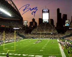 Bobby Wagner Seahawks Autographed 8x10 Photo I