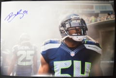 Bobby Wagner Seahawks Autographed 12x18 Photo B