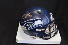 Ricardo Lockette Seahawks Autographed Super Bowl Mini Helmet