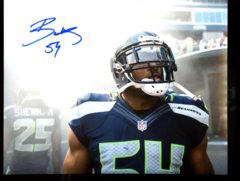 Bobby Wagner Seahawks Autographed 8x10 Photo A