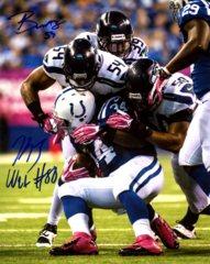 Bobby Wagner AND KJ Wright Seahawks Autographed 8x10 Photo O