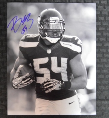 Bobby Wagner Seahawks Autographed 8x10 Photo B