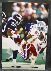 Brian Blades Seattle Seahawks Signed 12x18 Pro Bowl Photo