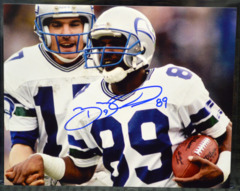 Brian Blades Seattle Seahawks Signed 8x10 Color Photo