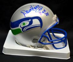 Dave Krieg Seahawks Autographed ROH Mini Helmet JSA