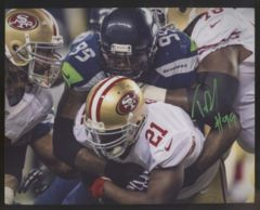 Tony McDaniel Seahawks Autographed  8x10 Photo C