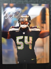 Bobby Wagner Seahawks Autographed 8x10 Photo G