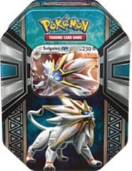 Legends of Alola Tin - Solgaleo